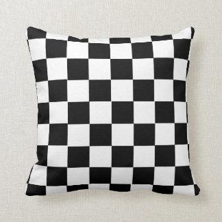 Almofada travesseiro da xadrez