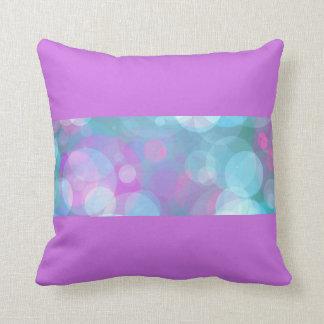 Almofada Travesseiro das bolhas do Aqua da lavanda
