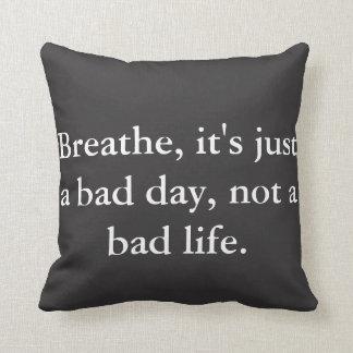 Almofada Travesseiro das citações