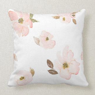 Almofada Travesseiro das flores de Brown da flor de Indy