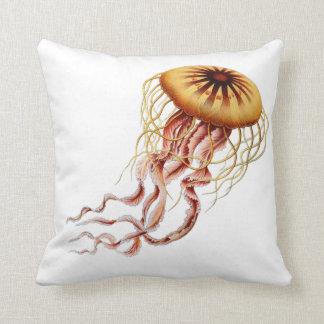 Almofada Travesseiro das medusa de Haeckel