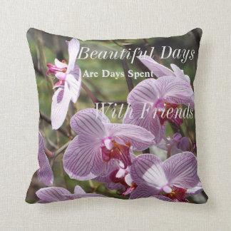 Almofada Travesseiro das orquídeas