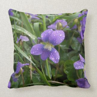Almofada Travesseiro das violetas
