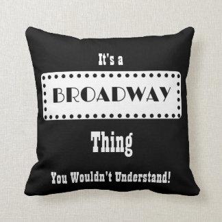 Almofada Travesseiro de Broadway