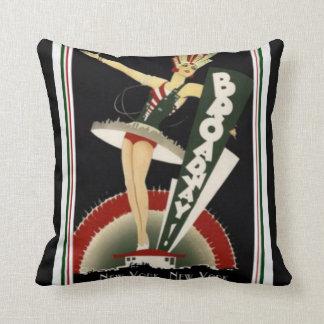 Almofada Travesseiro de Broadway New York do art deco