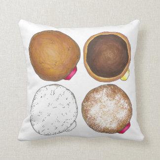 Almofada Travesseiro de creme pulverizado geléia da filhós