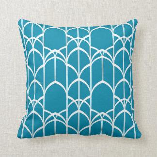 Almofada Travesseiro de Deco Windows (azul coral)