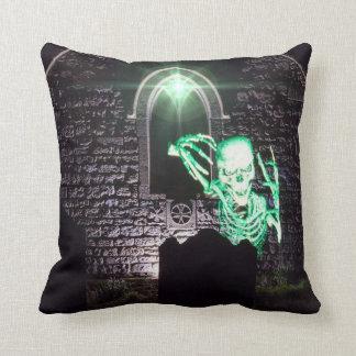 Almofada Travesseiro de esqueleto do Dia das Bruxas