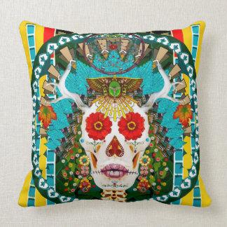 Almofada Travesseiro de La Reina De Los Muertos (rainha do