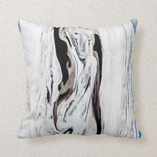 Almofada Travesseiro de mármore azul