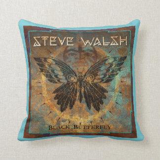 Almofada Travesseiro de Steve - borboleta preta