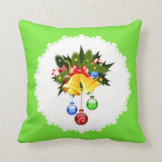 Almofada Travesseiro decorado de Bels de Natal