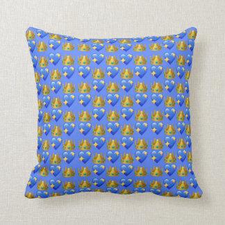 "Almofada Travesseiro decorativo 16"" da princesa Emoji x 16"""