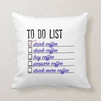 """Almofada Travesseiro decorativo 16"""" do poliéster da lista"""