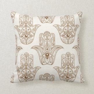 """Almofada Travesseiro decorativo 16"""" do símbolo de Hamsa x"""