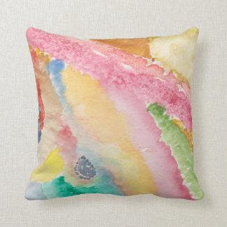 Almofada Travesseiro decorativo 16x16 com design abstrato