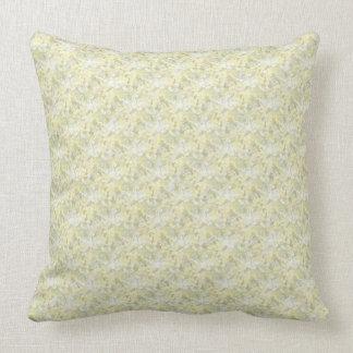 "Almofada Travesseiro decorativo 20"" do Celadon e do creme X"