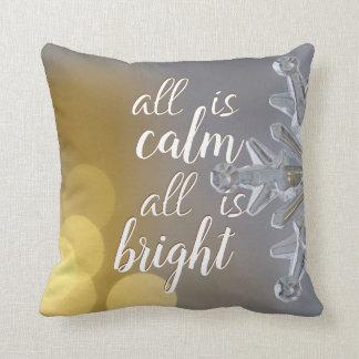 Almofada Travesseiro decorativo 2 das citações de Bokeh dos