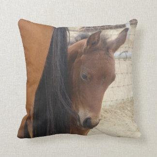 Almofada Travesseiro decorativo adorável do potro