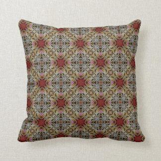 Almofada Travesseiro decorativo africano da flor em botão