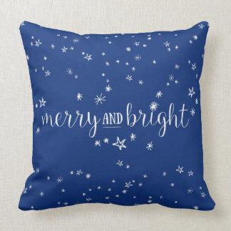 Almofada Travesseiro decorativo alegre e brilhante do