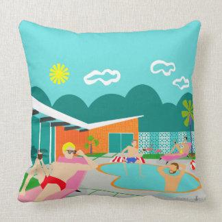 Almofada Travesseiro decorativo alegre retro da festa na