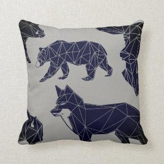 Almofada Travesseiro decorativo animal geométrico dos