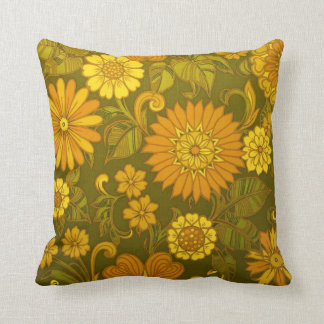 Almofada Travesseiro decorativo antigo floral feito sob