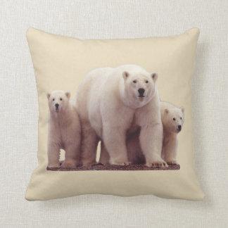 Almofada Travesseiro decorativo ártico bonito dos animais
