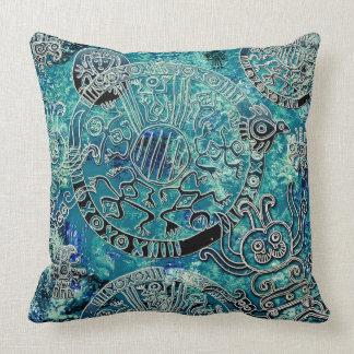 """Almofada Travesseiro decorativo asteca 20"""" do poliéster dos"""