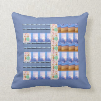 Almofada Travesseiro decorativo azul
