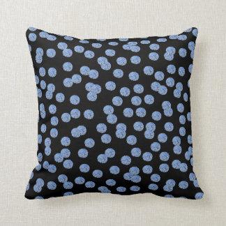 """Almofada Travesseiro decorativo azul 16"""" do poliéster das"""