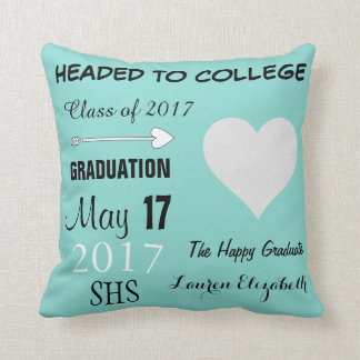 Almofada Travesseiro decorativo azul da celebração da