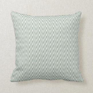 Almofada Travesseiro decorativo azul de Chevron