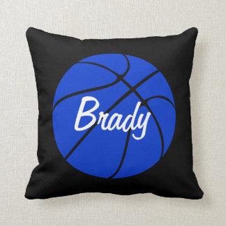Almofada Travesseiro decorativo azul do costume do