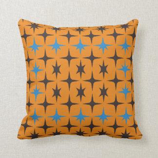Almofada Travesseiro decorativo azul e amarelo do teste