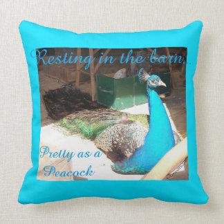 Almofada Travesseiro decorativo azul masculino bonito do