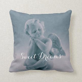Almofada Travesseiro decorativo azul Pastel do querubim