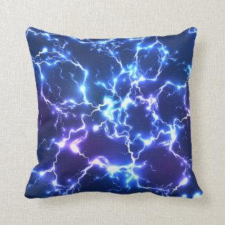 Almofada Travesseiro decorativo azul roxo elétrico moderno
