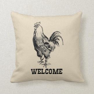 Almofada Travesseiro decorativo bem-vindo do estilo da casa