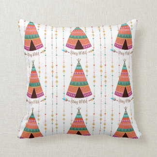 Almofada Travesseiro decorativo boémio selvagem do estilo
