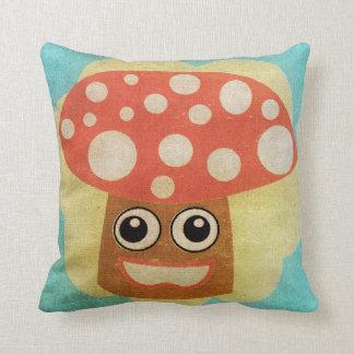 Almofada Travesseiro decorativo bonito do cogumelo do
