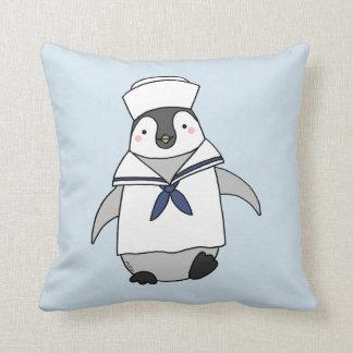 Almofada Travesseiro decorativo bonito do pinguim do
