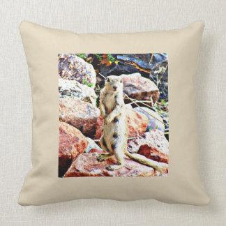 Almofada Travesseiro decorativo branco do poliéster do