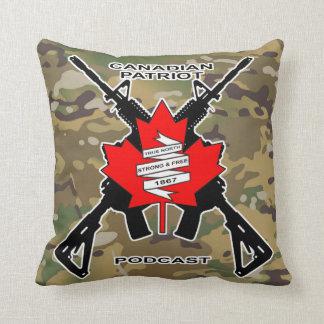 Almofada Travesseiro decorativo canadense do Podcast do