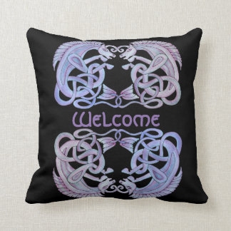 Almofada Travesseiro decorativo celta dos Kelpies