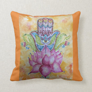 Almofada Travesseiro decorativo colorido da aguarela de