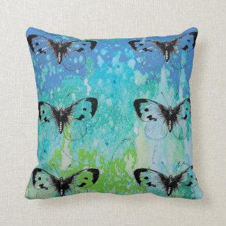 Almofada Travesseiro decorativo colorido da arte do selo