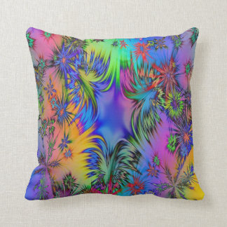 Almofada Travesseiro decorativo colorido do algodão do