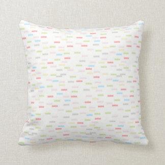 Almofada Travesseiro decorativo colorido do coxim dos